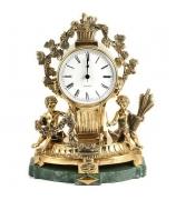 Настольный бронзовые часы