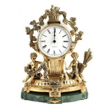 Часы из бронзы «Изобилие»