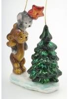 Елочная игрушка «Наряжаем елку»
