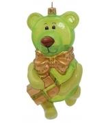 Елочная игрушка «Мишка - леденец»
