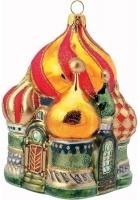 Елочная игрушка «Собор Василия Блаженного»