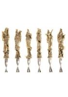 Набор шампуров «На привале», подарочный