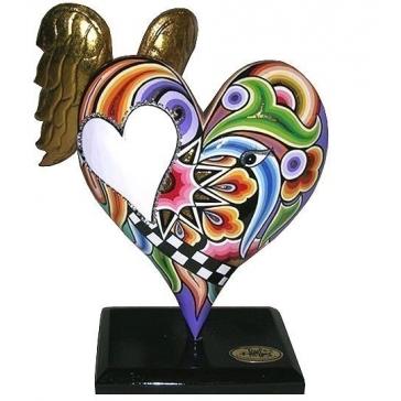Сувенир «Большое сердце с крыльями»