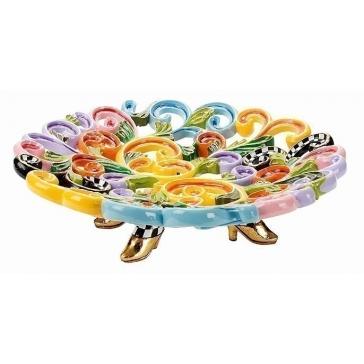 Декоративная тарелка «Барокко»