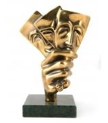 Бронзовая статуэтка «Игра»