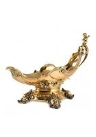 Бронзовая ваза ладья «Ангел»
