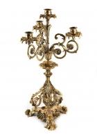 Канделябр «Барокко» на 4 свечи