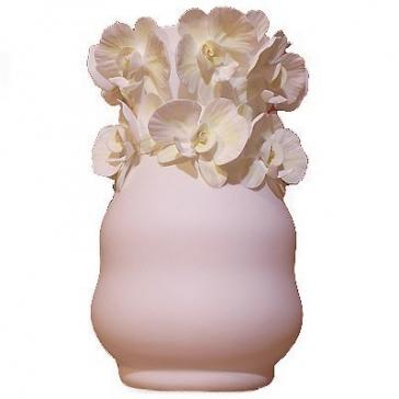 Фарфоровая ваза для цветов «Орхидея», высота 21,5 см