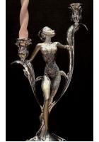 Подсвечник «Девушка» на две свечи
