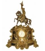 Бронзовые часы «Знаменосец»