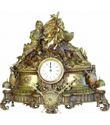 Бронзовые часы «Гладиаторы»