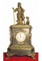 Бронзовые часы «Охотник»