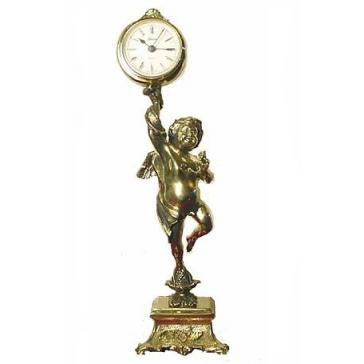Часы из бронзы «Амур»