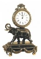 Бронзовые часы «Слон»