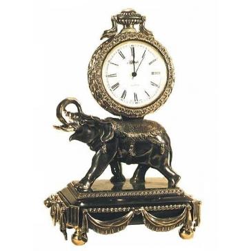 Часы из бронзы «Слон»