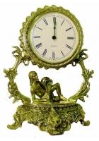 Бронзовые часы «Галактика - Водолей»