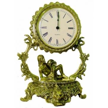 Часы из бронзы «Галактика - Водолей»