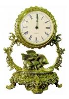 Бронзовые часы «Галактика - Рыбы»