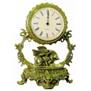 Часы из бронзы «Галактика - Рыбы»