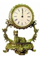 Бронзовые часы «Галактика - Овен»