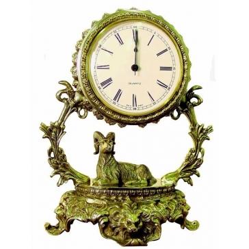 Часы из бронзы «Галактика - Овен»