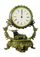 Бронзовые часы «Галактика - Телец»