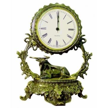 Часы из бронзы «Галактика - Телец»