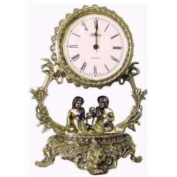 Часы из бронзы «Галактика - Близнецы»