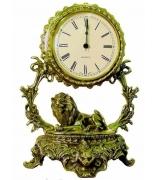 Бронзовые часы «Галактика - Лев»