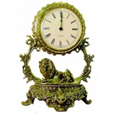 Часы из бронзы «Галактика - Лев»