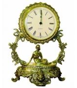 Бронзовые часы «Галактика - Дева»