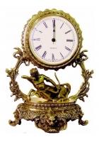 Бронзовые часы «Галактика - Стрелец»