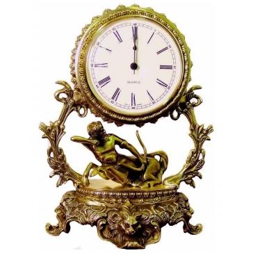 Часы из бронзы «Галактика - Стрелец»