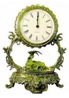 Бронзовые часы «Галактика - Козерог»