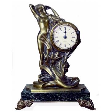 Часы из бронзы «Возрождение»