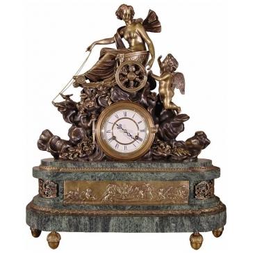 Часы из бронзы «Триумф Венеры»