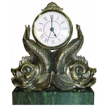 Часы из бронзы «Союз»