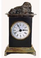 Бронзовые часы «Кот»