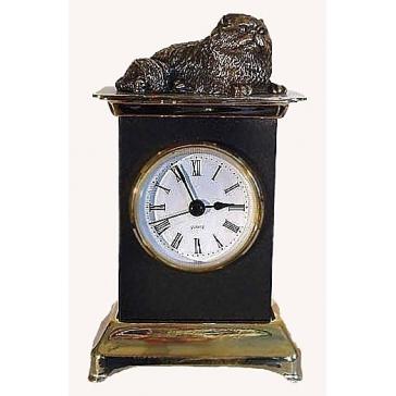 Часы из бронзы «Кот»