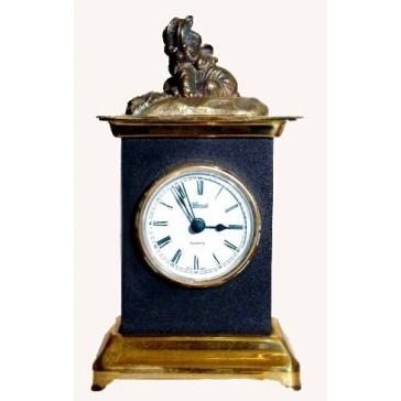 Часы из бронзы «Слоненок»