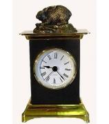 Бронзовые часы «Зайка»