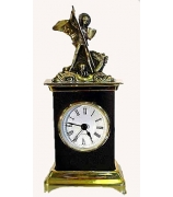 Бронзовые часы «Георгий Победоносец»