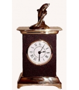 Бронзовые часы «Дельфин»