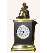 Бронзовые часы «Дева»