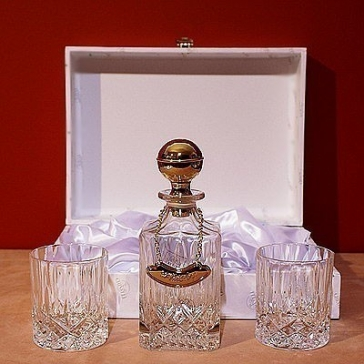 Набор для виски: декантер, 2 бокала