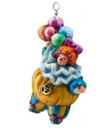 Елочная игрушка «Клоун с шариками»