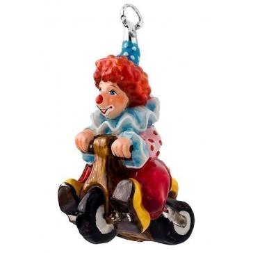 Елочная игрушка «Клоун на велосипеде», коллекция Komozja и Mostowski