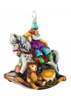 Елочная игрушка «Моя старая лошадка»