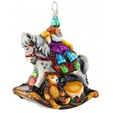 Елочная игрушка из стекла «Моя старая лошадка», фирменная упаковка