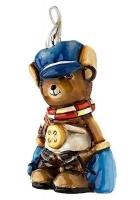 Елочная игрушка «Мишка в рукавичках»